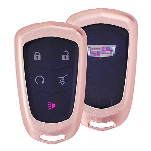 first2savvv-rosa-guscio-shell-fob-alluminio-chiave-telecomando-per-cadillac-ats-l-ct6-xts-xt5-cts-sr