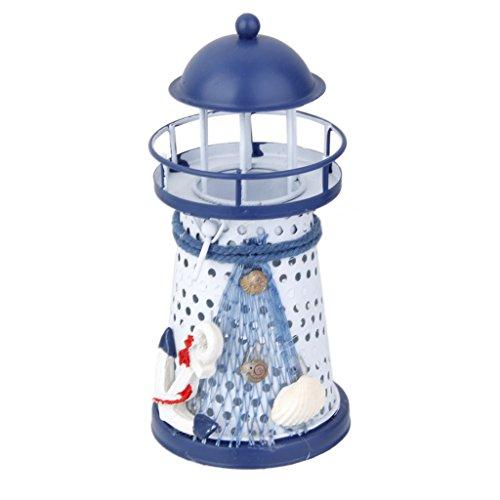 urm Lampe Eisen Kerzenhalter Maritim Strand Dekor Hochzeit Schlafzimmer - Anker (Strand-hochzeits-dekor)