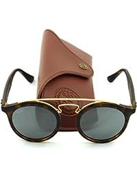 Ray-Ban RB4256 GATSBY I Retro-modern Women Sunglasses (Tortoise Frame/Grey Mirror Lens 60926G