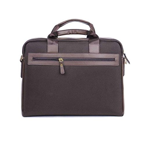 Uomini Oxford Business Casual Moda Uomo Borsa Borsa Tracolla Borsa Messenger Borsa Traversa Obliqua Brown