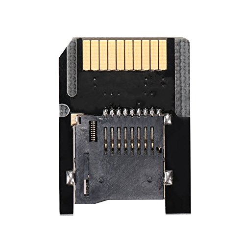 Cewaal SD2VITA Micro SD TF Speicherkarte Adapter Auswerfen Für PS Vita 3.60 System