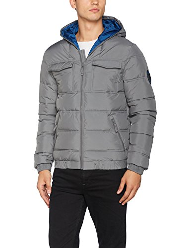 Bench Herren Jacke Schoolboy Jacket, Grau (Dark Grey Gy149), XX-Large