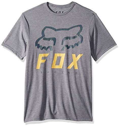 Fox Herren Heritage FORGER Short Sleeve TRUDRI TECH Premium T-Shirt, Heather Graphite, Mittel -