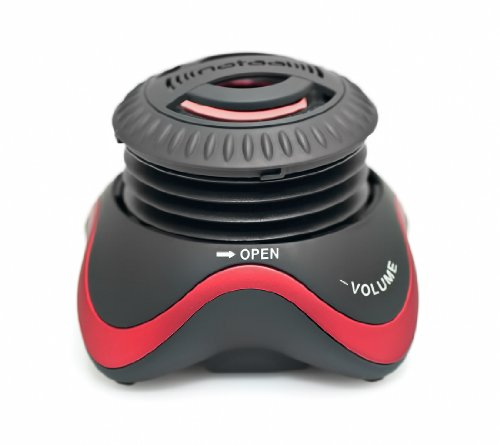 Kinivo SPK-ZX100-MICRO Portable Wired Speaker with Rechargeable Battery and Enhanced Bass Resonator (Black)