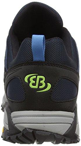 Expédition De Bruetting, Chaussures D'escalade Bleues Unisexes Adultes (marine / Blau / Citron)