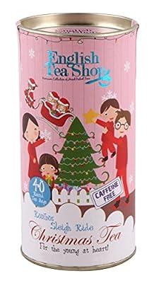 English Tea Shop - Traîneau de traîneau Rooibos bio de Noël - 60g - 1 x 40 sachets de thé