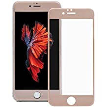 cristal templado iphone 6 plus/6s plus,MORECOO 3D Protector de pantalla de cristal para iPhone 6 plus/6s plus(Oro rosa 5.5)