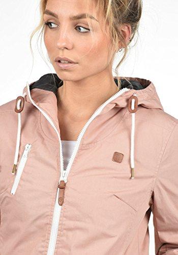 DESIRES Tilda Damen Kapuzenjacke Übergangsjacke aus hochwertigem Material Mahog. Rose (4203)