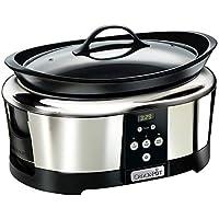 Crock-Pot SCCPBPP605-050 - Olla de cocción Lenta Digital de 5,7L SCCPBPP605, 5.7 litros