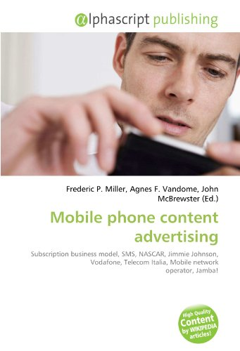 mobile-phone-content-advertising-subscription-business-model-sms-nascar-jimmie-johnson-vodafone-tele