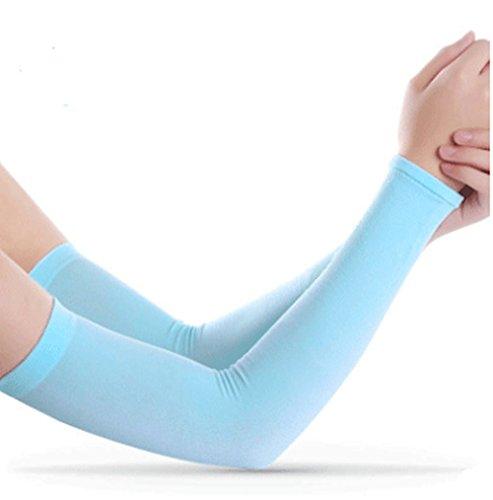 YYGIFT Anti Mücken Armlinge UV-Schutz Sport Kompressions Kinder und Erwachsener Armstulpen Ärmel Unisex UV-Schutz Kühler Band Schutzhand