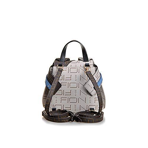 Rucksack-Schulter Doppel-Schulter Doppeltasche Neue Crossbody Tasche Weiblich Packung -