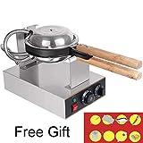 Gofrera Bubble Waffle eggette Maker 110V/220V 33x22x23cm 220v (Eu Adapter)