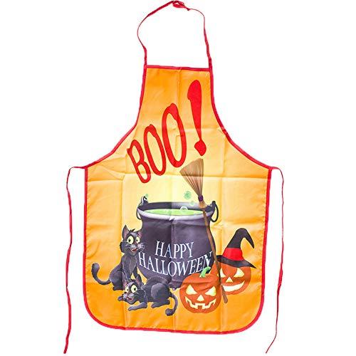 SJZC Schürze Halloween Party Dekoration Persönlichkeitsmuster,Pharmacy