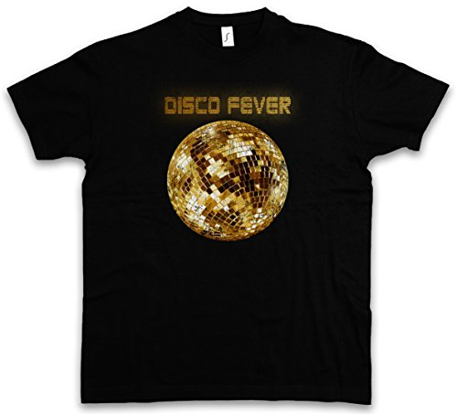 Disco Light II T-Shirt – Luce Retro Oldies Music Musik Nerd Techno Indie Electro Wave New Hipster Club Clubbing Rave Cyber Dance Mirror Ball Starlight Star 70s 80s 90s Taglie S – 5XL Nero