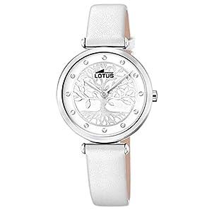 Lotus Reloj Analógico para Mujer de Cuarzo con Correa en Cuero 18706/1