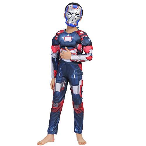 - Iron Man Haut Kostüm
