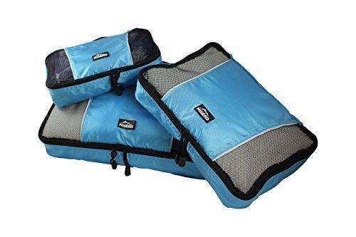 Niseko , Organizer per valigie blu Blau