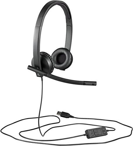 Logitech H570e Stereo Headset USB Skype Stereo