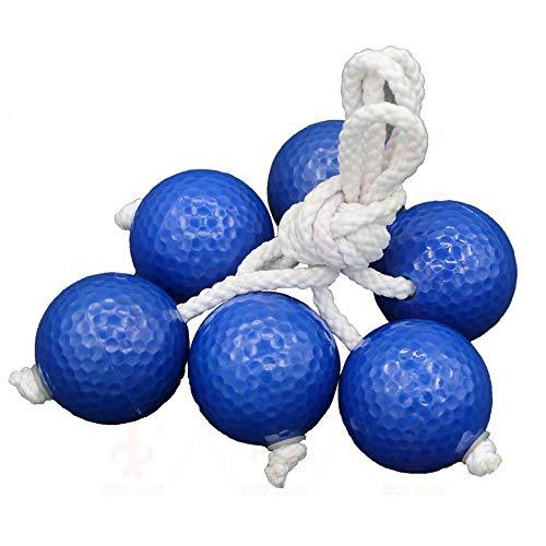 Ying xinguang Golfzubehör 3 Paket Ladderball Bolas Kid Safe Weichgummi Oder Harte Golfbälle Leiter Werfen Bolo Ersatz Set, (Color : White, Size : 3pcs)