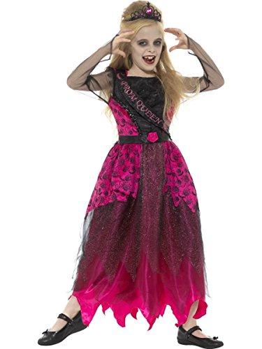 Smiffys Kinder Kostüm Gothic Zombie Ballkönigin Halloween 7 bis 9 Jahre