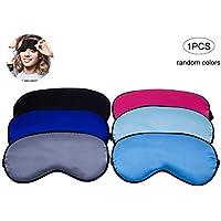 Schlafmaske weiche Schlafbrille Einstellbare Blindfold eyeshade Bequeme Augen-Abdeckung für Männer und Frauen... preisvergleich bei billige-tabletten.eu