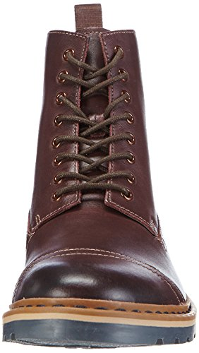 Clarks Dargo Rise, Herren Kurzschaft Stiefel Braun (Chestnut Leather)