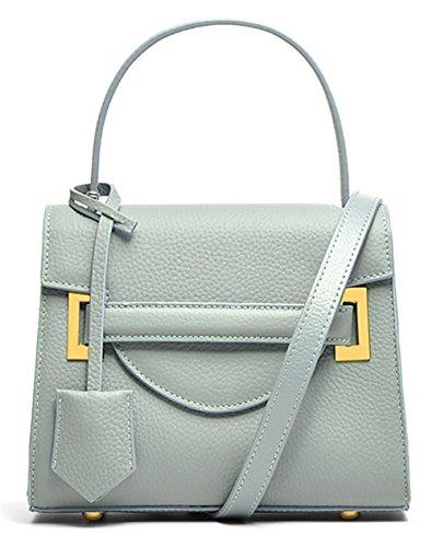 Sacs à main pour femme Xinmaoyuan épaule Messenger Bag Ladies sac à main Sacs à main Sacs à main en cuir couleur Hit Blue