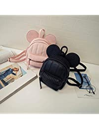 Wpackbag Nueva Bolsa De Hombro Ocasional Coreana Mochila De Orejas De Mickey Bolsa De Niño Niña