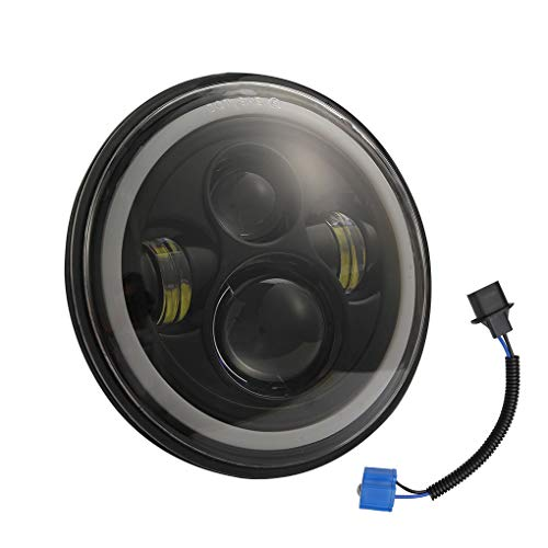 Di ricambio per Jeep Wrangler H4 / H13 fari LED H13 LED faro Hi/Low del fascio di luce del faro impermeabile della luce della testa 7 po