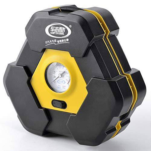 Kompressor Tragbare 12v Auto Luftpumpe 22 Zylinder 3m Netzkabel LED-Digitalanzeige-Manometer Fahrrad Motorrad (stil : A)