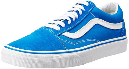 Vans UA Old Skool Suede Canvas Imperial Blue 42 (Blue Suede Vans)