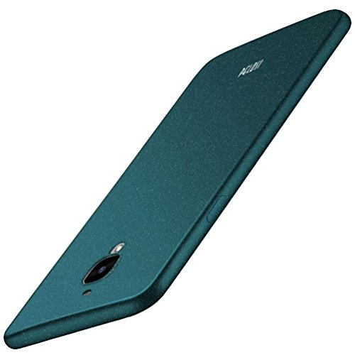 Omiky® Original Pelosi Sandstein Haut Fall Deckung Slim-Fit Flexible TPU Fall für Oneplus Drei / OnePlus 3T (Grün) (3t Grün)