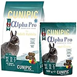 Cunipic Alpha Pro para conejos adultos