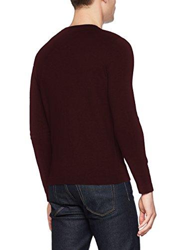 TOM TAILOR Uomini Pullover Rosso