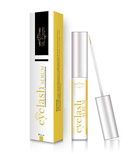 Premium Wimpernserum - für ein starkes und schnelles Wimpernwachstum in 4-6 Wochen | Augenbrauenwachstum | mehr Länge, Dichte und...