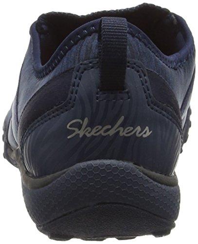 SkechersBreathe-EasyFortune - Scarpe da Ginnastica Basse Donna Blu (Blu (Navy))