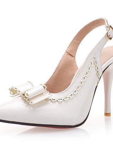 WSS 2016 Chaussures de mariage-Noir / Rose / Rouge / Blanc-Mariage / Soirée & Evénement-Talons / Bout Ouvert-Sandales / Talons-Homme red-us8 / eu39 / uk6 / cn39