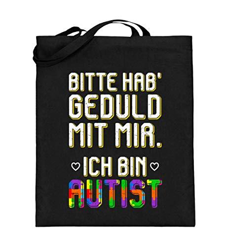 Ideal für Autisten - Jutebeutel (mit langen Henkeln)