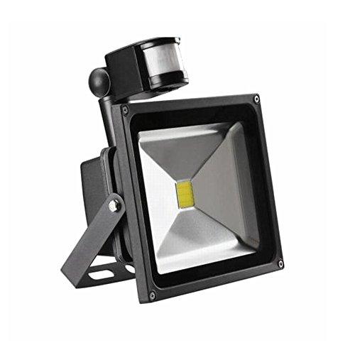 MCTECH MCTECH 50W Negro focos LED Iluminación con lámpara impermeable movimiento blanco...