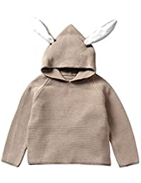 bc9275086 Amazon.co.uk  Brown - Hoodies   Tracksuits   Baby Girls 0-24m  Clothing