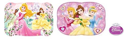 Tischunterlagen /Tischset /Tisch Matten / Platzdeckchen / Essunterlage/ Platzset / Placemat aus Kunststoff abwaschbar / tolle geschenkidee für Kinder - Disney Princess: Aurora, Belle, Tiara, Cinderella (Disney Cinderella Kind Tiara)
