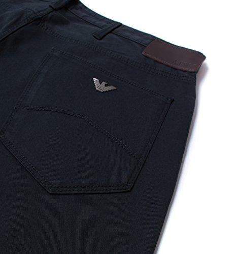 Armani Jeans Herren Slim-fit Jeans j06 gabardine Blau Blau