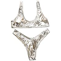grande vendita b7ab2 15b6b Argento - Costumi / Nuoto: Sport e tempo libero - Amazon.it