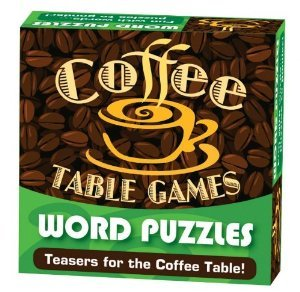 Word Puzzles - Coffee Table Games - low-cost UK light store.