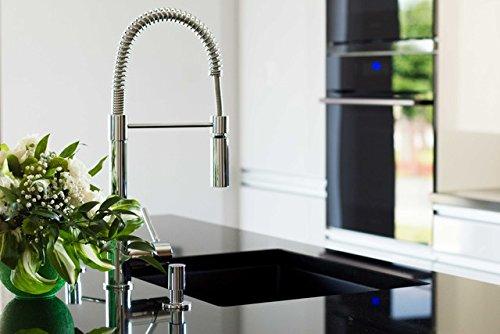 Franke 115.0185.417 – Grifo de cocina (flexible, 1 unidad), color cromo