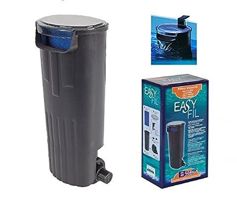 Pompe Filtre Bleu Bios Easy Fil à immersion-système de filtration de l'eau-Avec cartouche filtrante