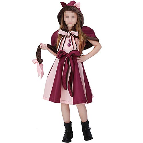 Gothic Alice Erwachsene Wunderland Im Für Kostüm - YyiHan Halloween Kostüm, Outfit Für Halloween Fasching Karneval Halloween Cosplay Horror Kostüm,Alice Im Wunderland Kinder Lila Mädchen Cosplay Halloween Kostüm