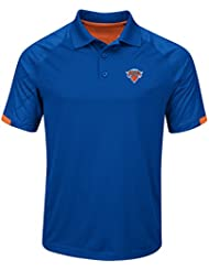 "New York Knicks Majestic NBA ""Excitement"" Men's Synthetic Polo Shirt Chemise"