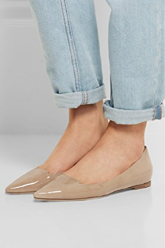 Kolnoo , chaussons d'intérieur femme Beige